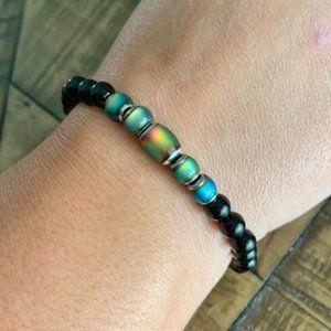 🚨NEW🚨 6mm Black Onyx Mood Bead Bracelet